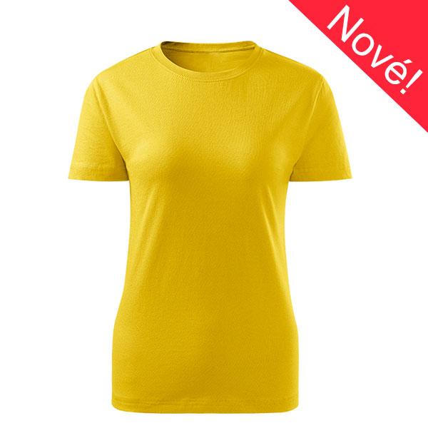 Dámské tričko Classic new k potisku