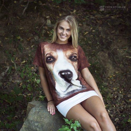 3d-tričko-the-mountain-se-psem-beagle