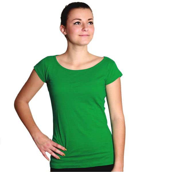 Dámské-tričko-O-Elegance-k-potisku