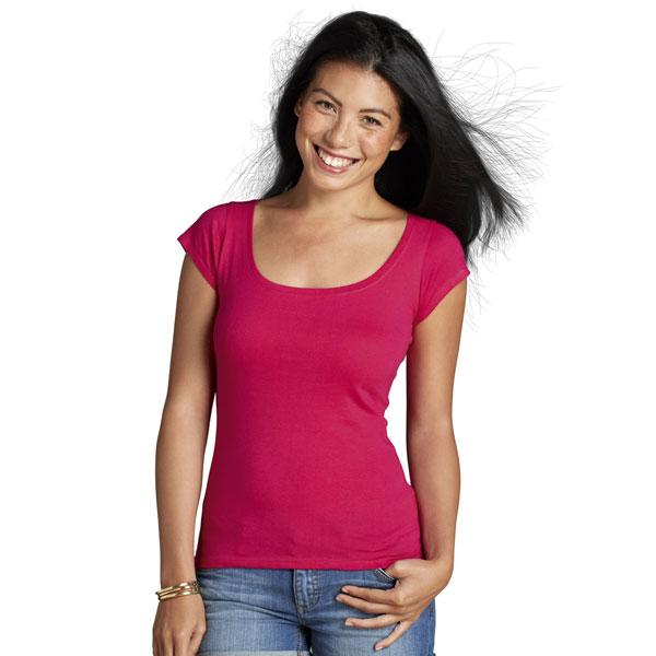 Dámské-tričko-O-Melrose-k-potisku