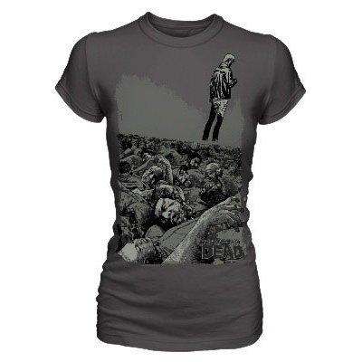 Dámské-tričko-Walking-Dead-živí-mrtví
