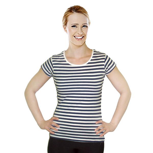 Dámské-tričko-námořnické-k-potisku