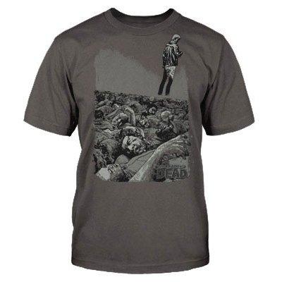Pánské-tričko-Walking-Dead-živí-mrtví