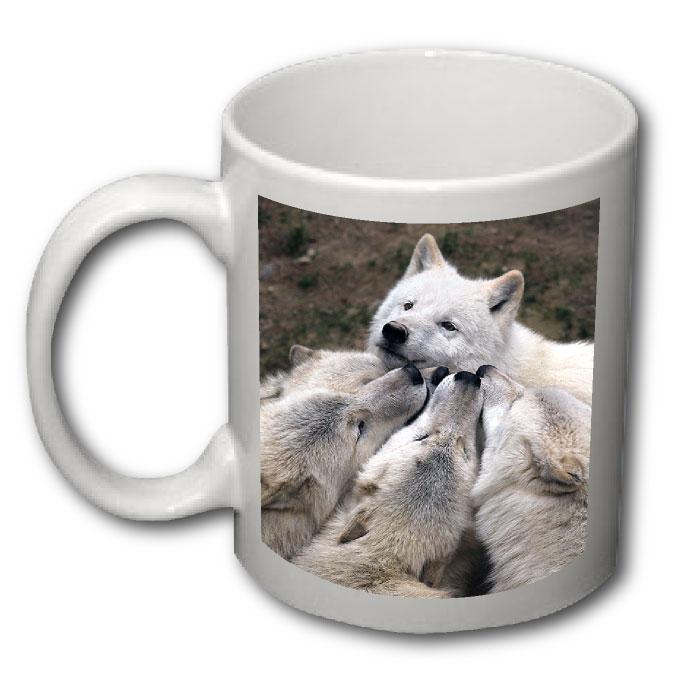 Potisk-Hrnku-Vlk