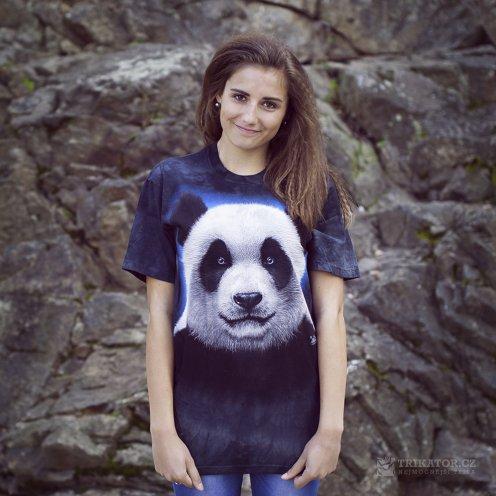 The mountain 3d tričko panda