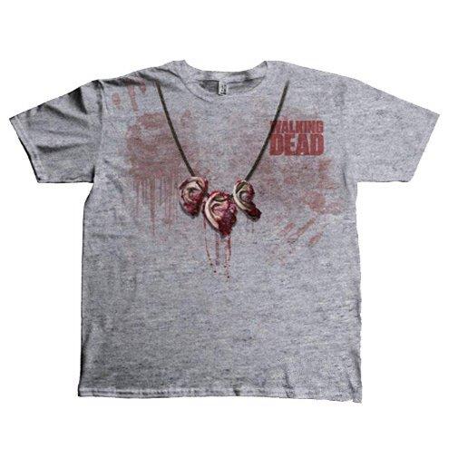 Tričko-Walking-Dead-s-potiskem-Dixon-Ear-Necklace