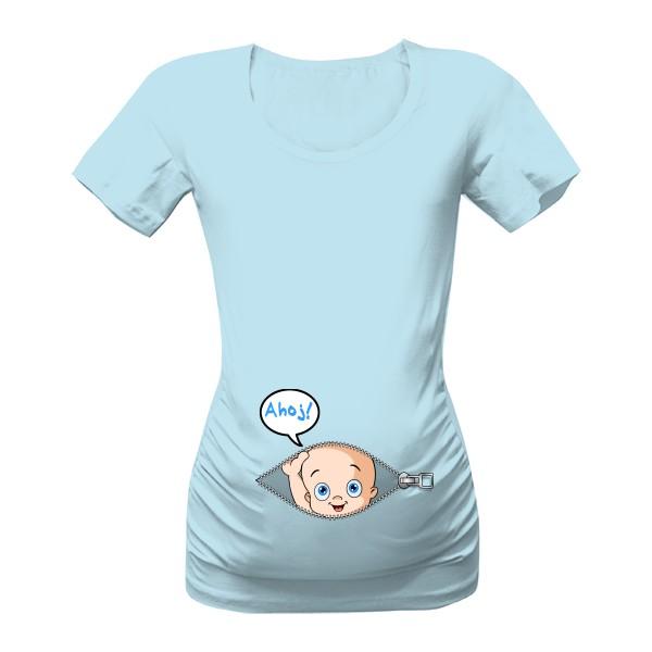 těhotenská-trička-s-potiskem