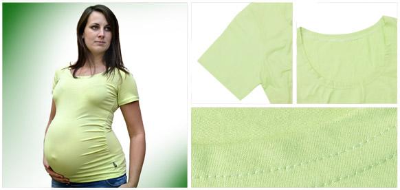 těhotenské-tričko-s-krátkým-rukávem-k-potisk