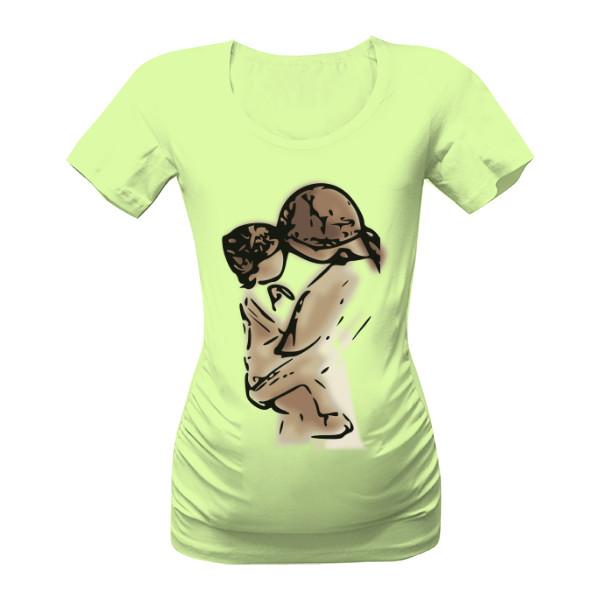 těhotenské tričko máma s mimi