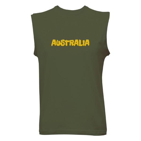 Pánské tričko bez rukávu Australia