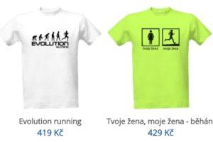 běžecká trička vtipná