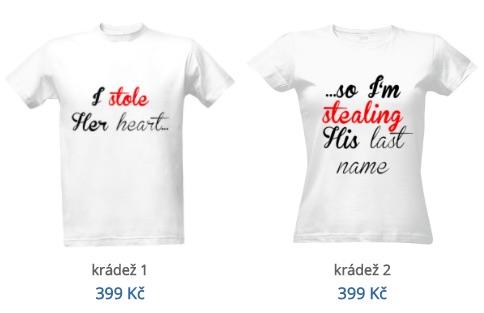 Vtipná svatební trička s potiskem  Pro nevěstu 1fb94cbeb3