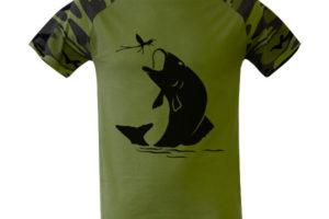 rybářská trička s potiskem